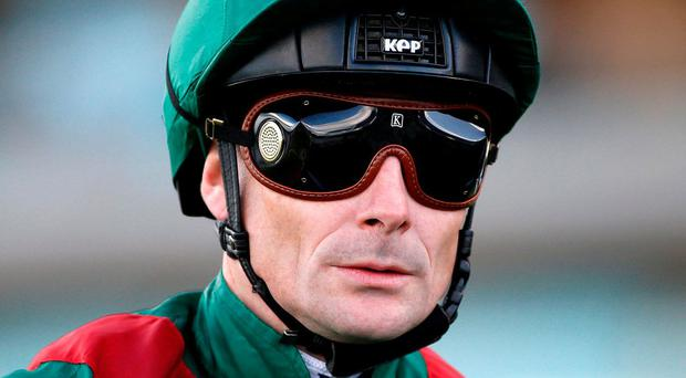 Pat Smullen can strike aboard Harzand at Chantilly tomorrow. Photo: Alan Crowhurst/Getty Images