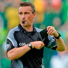 Referee Maurice Deegan. Photo: Oliver McVeigh/Sportsfile