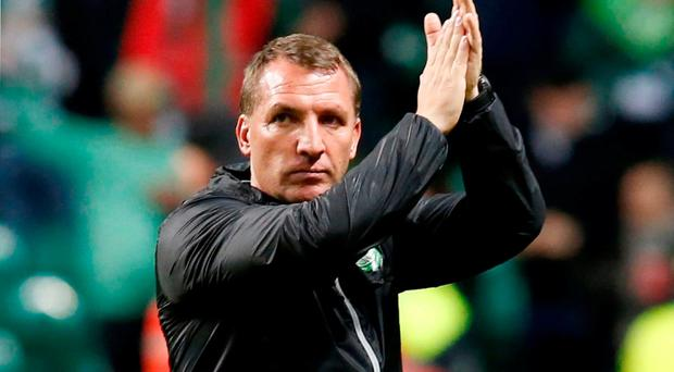 Celtic manager Brendan Rodgers. Photo: Jane Barlow/PA Wire