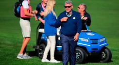 Europe team captain Darren Clarke