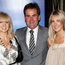 Richard Keys with his wife Julia, left, and their daughter Jemma, right Credit: Dave Hogan/Getty Images