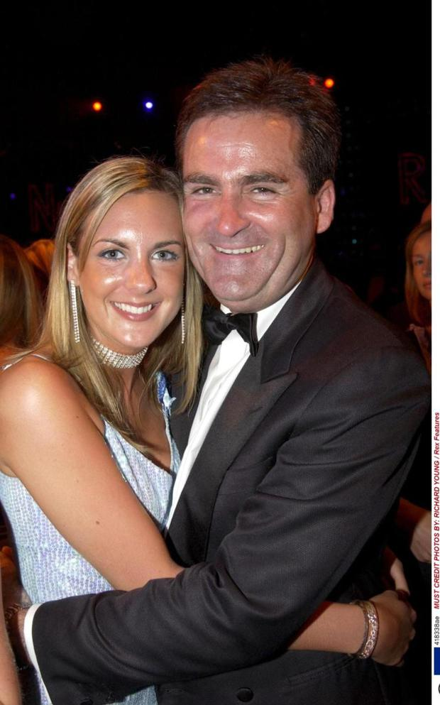 Richard Keys with his daughter Jemma Credit: Christopher Lee/Getty Images