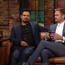 Michael Pena, Alexander Skarsgard and director John Michael McDonagh on The Late Late Show with Ryan Tubridy