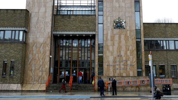 Rosalin Baker and Jeffrey Wiltshire appeared at Thames Magistrates' Court