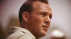 Arnold Palmer believed there was nothing to match standing on the first tee in a Ryder Cup match. Photo: AP Photo