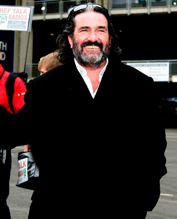 He's back: Johnny Ronan will develop over one million sq ft of land at Spencer Place Photo: David Conachy