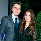 Bernard Brogan and Keira Doyle at the Dublin All Ireland Celebration Banquet at The Gibson Hotel