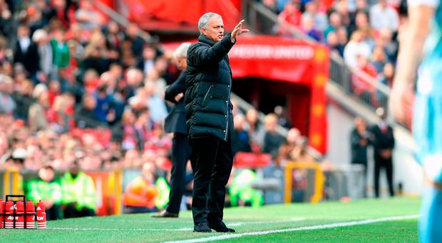 Manchester United manager Jose Mourinho. Photo credit: Martin Rickett/PA Wire