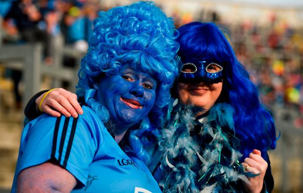 Dublin supporters Ger Foster and Lisa Brennan, from Tallaght. Photo by Cody Glenn/Sportsfile