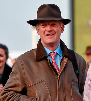 Trainer Willie Mullins. Picture credit: Seb Daly / Sportsfile