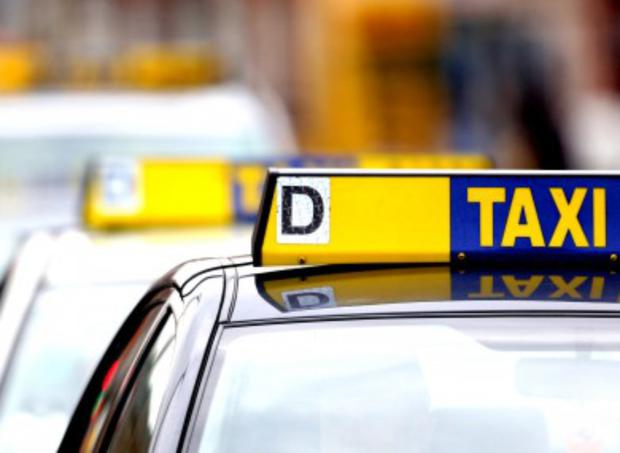 A taxi driver is making a generous donation to families in need this Christmas