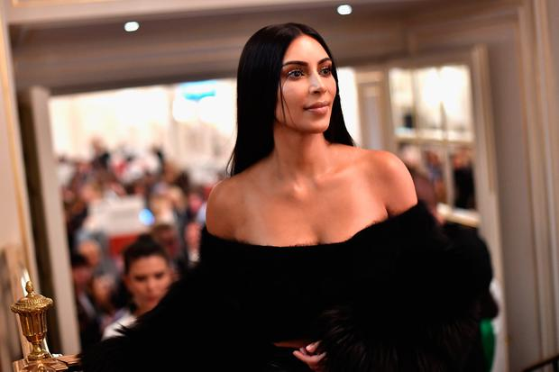 Kim Kardashian West attends Buro 24/7 Fashion Forward Initiative as part of Paris Fashion Week Womenswear Spring/Summer 2016 at Hotel Ritz on September 30, 2016 in Paris, France. (Photo by Jacopo Raule/Getty Images)