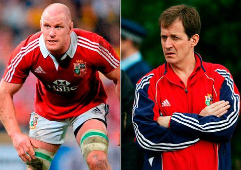 Paul O'Connell reveals why he wanted to 'knock out' Alastair Campbell during Lions Tour