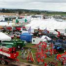 A general view of machinery at the 2016 National Ploughing Championships at Screggan, Tullamore, Co. Offaly. Photo: Damien Eagers