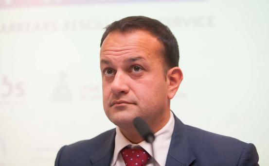 The establishment of a universal scheme is being championed by Social Protection Minister Leo Varadkar, although he has not said when it will be set up. Photo: Gareth Chaney Collins