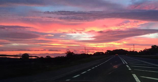 Sunrise over Armagh. Pic: Garry Toal