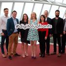 Pictured: Padraig Sugrue, Irish Mirror, Declan Fahy, Independent News & Media, Katie Molony, Maximum Media, Suzanne McElligott, IAB Ireland, Marie Davis, Google, Aiden O'Byrne, Distilled SCH, Aidan O'Dwyer, Journal Media, Oliver Sewell, Facebook