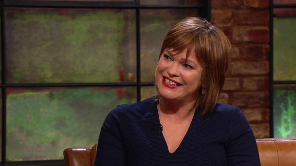Teresa Mannion was diagnosed with breast cancer in 2013. Photo Credit: RTE's Late Late Show