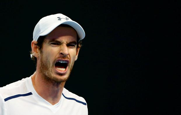 Andy Murray. REUTERS/Thomas Peter