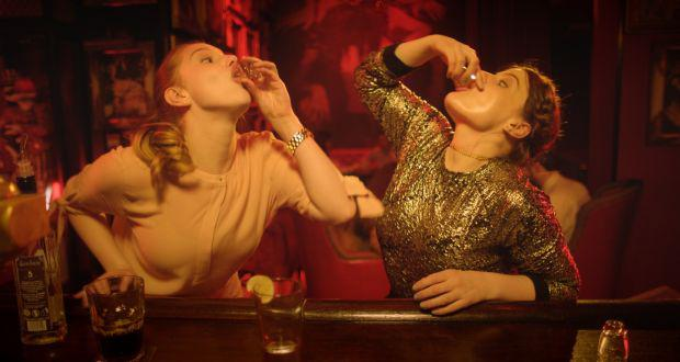 Nika McGuigan and Seana Kerslake in Can't Cope Won't Cope. Pic: RTE