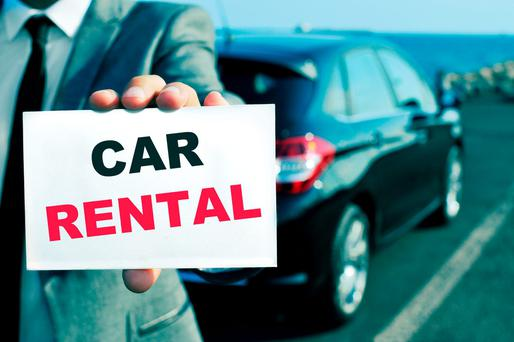 Car rental cars will have had many drivers