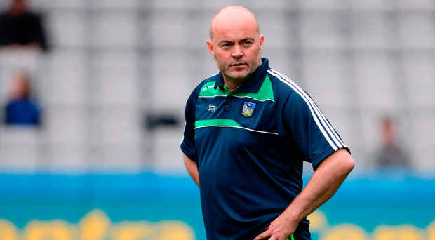 Anthony Daly: Strong hand. Photo by Piaras Ó Mídheach/Sportsfile