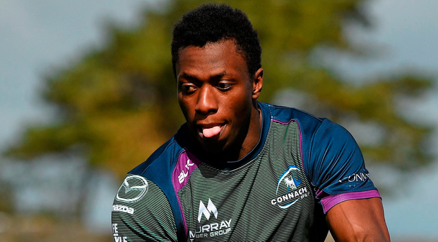Adeolokun could become the latest ex-AIL player to make the jump to the international game following a blistering start to the season. Picture credit: Paul Mohan / SPORTSFILE