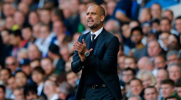 Manchester City manager Pep Guardiola. Photo: Andrew Couldridge/Action Images via Reuters