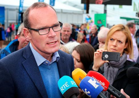 Simon Coveney: forced to abandon council pay plans. Photo: Steve Humphreys