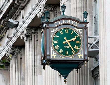 Clerys clock. Pic Frank McGrath