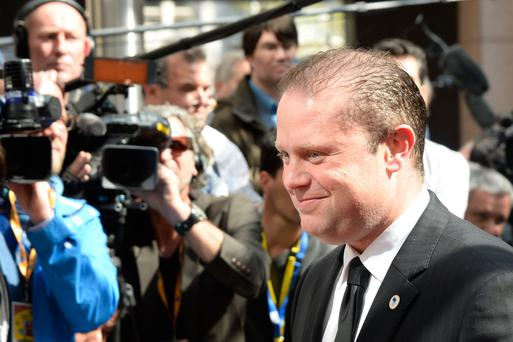 Maltese Prime minister Joseph Muscat: 'Even the most pro-UK countries . . . say you cannot have your cake and eat it.' Photo: AFP/Getty Images