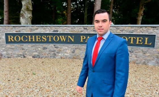 Diarmuid Vaughan, marketing manager at the Rochestown Park Hotel in Cork. Photo: Michael MacSweeney/Provision
