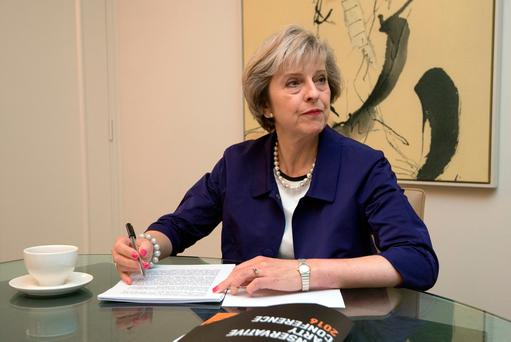 British Prime Minister Theresa May. Photo: Reuters/Carl Court /Pool