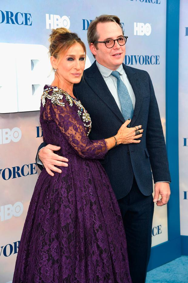 Sarah Jessica Parker and Matthew Broderick attend the