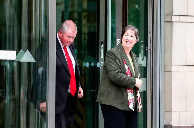 The parents of Frances McKeown at the inquest into her death
