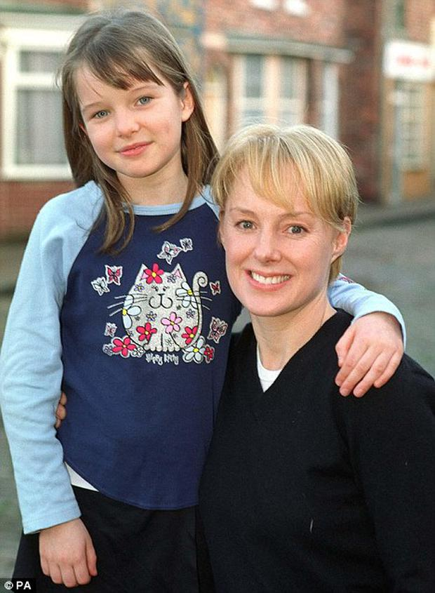 How it all began... Helen Flanagan, aged nine, as Rosie Webster in Coronation St