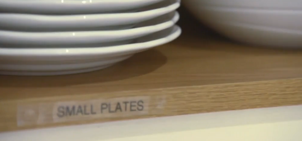 The family are fond of labels. Pic: TV3 / Livin' With Lucy