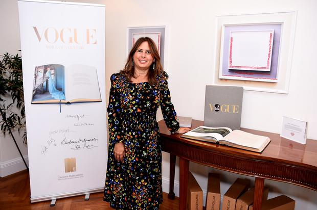 British Vogue editor Alexandra Shulman. (Photo by Dave Kotinsky/Getty Images)