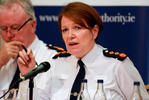 Garda Commissioner Nóírín O'Sullivan. Photo: Frank McGrath
