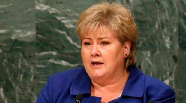 Erna Solberg, Norway's prime minister, is a big Pokemon Go fan Credit: Reuters