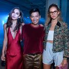 Fashion bloggers Rumi Neely, Bryan Boy and Chiara Ferragni attend 3.1 Phillip Lim during New York Fashion Week 2016 at Skylight Clarkson North on September 12, 2016 in New York City. (Photo by Vivien Killilea/Getty Images)
