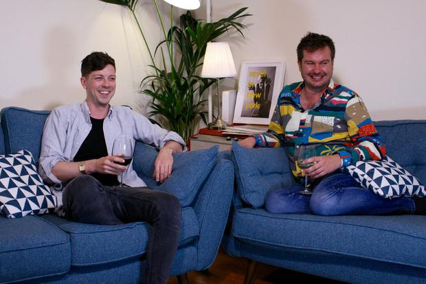 Gogglebox Ireland's newest faces, John and Dave