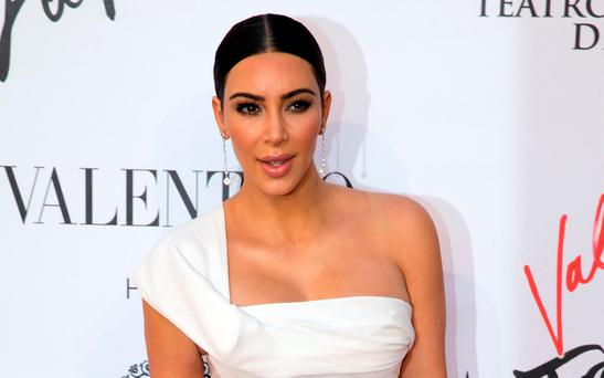 Targeted: Kim Kardashian (AP Photo/Andrew Medichini)