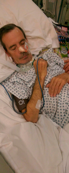 Noel McDermott (52) who attended A&E and was left on a trolley