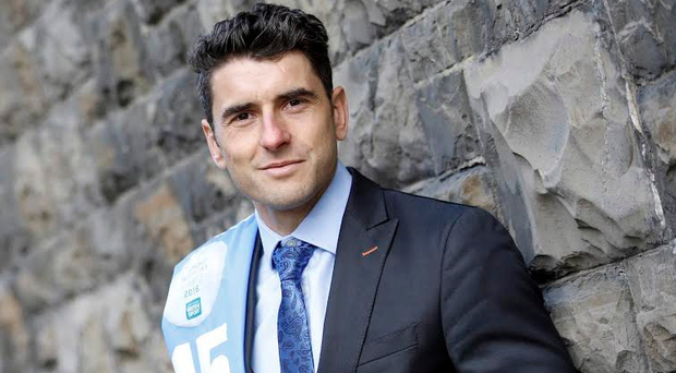 Dublin's Bernard Brogan was at the launch of the 2016 Sport Industry Awards at the Guinness Enterprise Centre yesterday. Picture: Jason Clarke