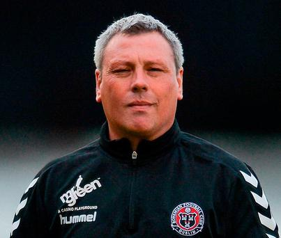 Bohemians manager Keith Long. Photo by Eóin Noonan/Sportsfile