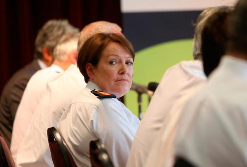 Whistleblower alleged that Commissioner O'Sullivan was made aware of the campaign through text messages Picture: Collins Dublin