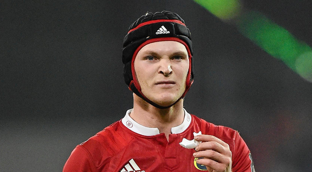 Tyler Bleyendaal is showing signs he could play a big part in Munster's season. Picture credit: Sportsfile