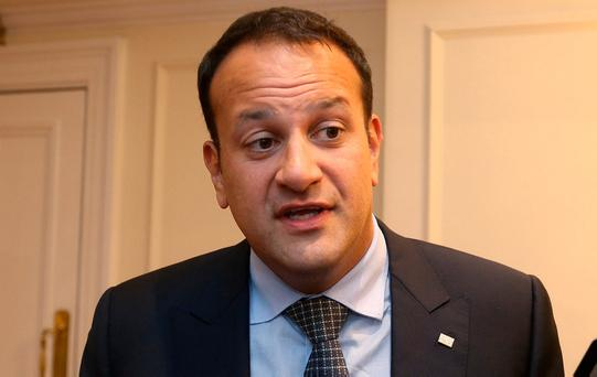 Minister Leo Varadkar. Photo: Damien Eagers