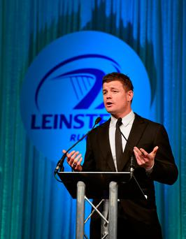 Leinster legend Brian O'Driscoll Photo: Stephen McCarthy / SPORTSFILE
